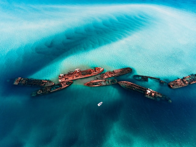 Moreton Bay Island Snorkelling at Coastal Shipwrecks